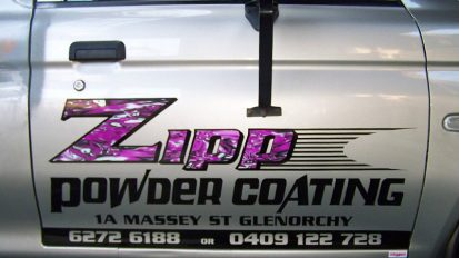 Zipp Powdercoating